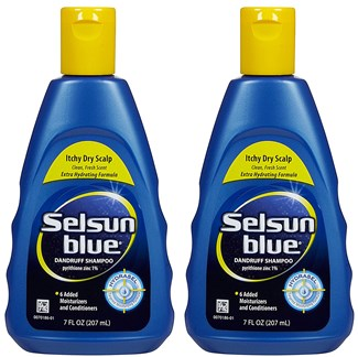 Selsun Itchy Dry Scalp Shampoo