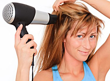 Dry Scalp from Blow Drying Your Hair