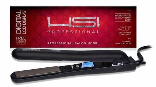 HSI Professional Tourmaline Ceramic Hair Straightener Review