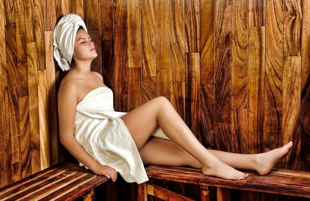 Hair protection tips when using the sauna