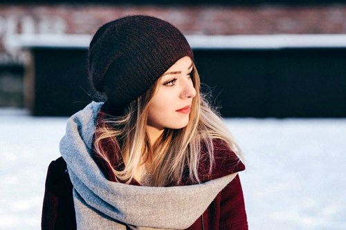 caring for hair in colder weather